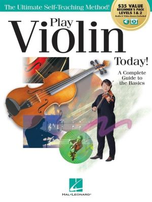 Play Violin Today! Beginner's Pack (Book + Online Audio)