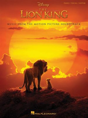The Lion King 2019 - Piano/Vocal/Guitar