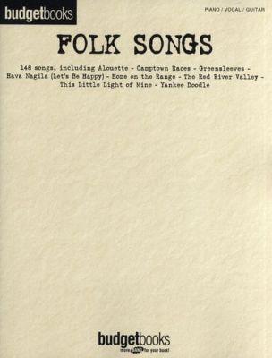 Budgetbooks - Folk Songs