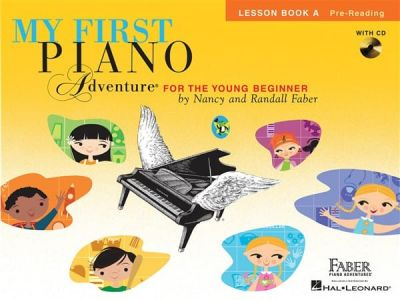 My First Piano Adventure For The Young Beginner Lesson Book A - Pre-Reading