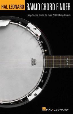Banjo Chord Finder (6 Inch x 9 Inch Edition)