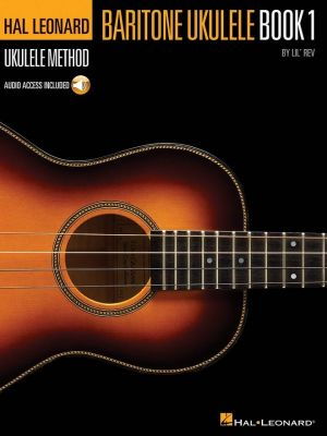 Baritone Ukulele Method Book 1 (Bk CD)