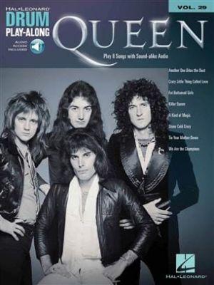 Hal Leonard Drum Play-Along Queen (Book + Online Audio)