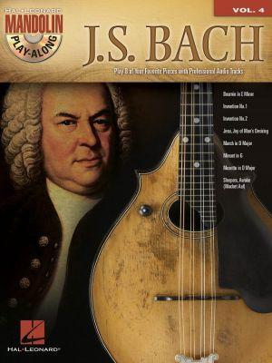 Mandolin Play-Along Volume 4: J.S. Bach