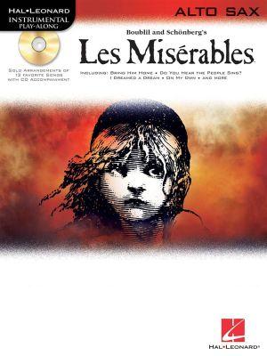 Les Miserables Play-Along Pack - Alto Sax