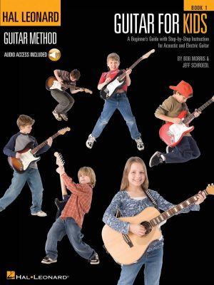 Hal Leonard Guitar Method for Kids Book and CD