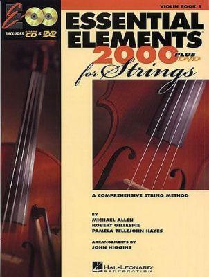 Higgins, John - Essential Elements 2000 For Strings Violin Book 1 (DVD Edition)