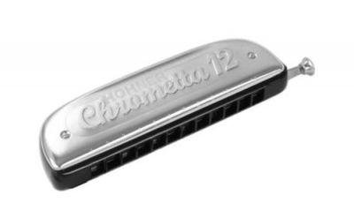 Hohner Chrometta harmonica 12 G