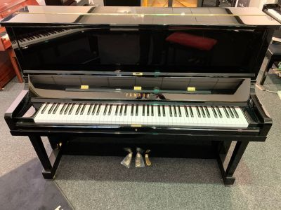 Yamaha SE122PE Upright Piano - DISPLAY MODEL