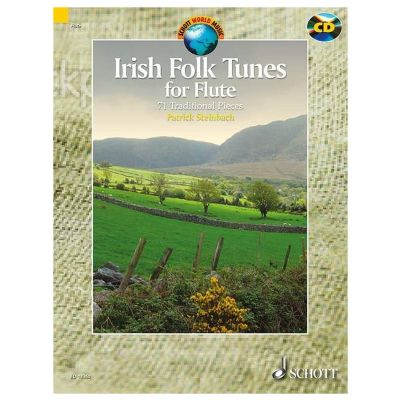 Irish Folk Tunes for Flute (Book and CD)