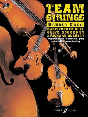 Team Strings Double Bass (Book with CD)