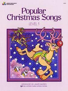 Bastien, James - POPULAR CHRISTMAS SONGS LEVEL 1