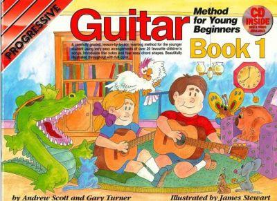 Progressive Guitar Young Beginner 1 Book, CD and DVD