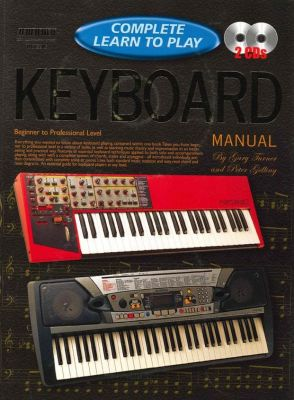 Complete Learn To Play Keyboard Manual Book + Cds