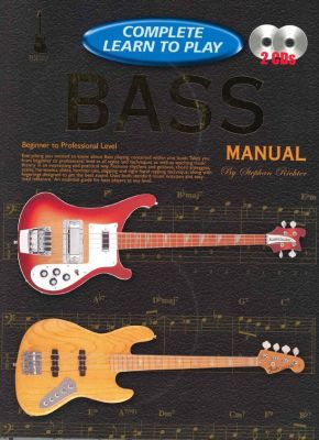 Complete Learn To Play Bass Manual + CDs