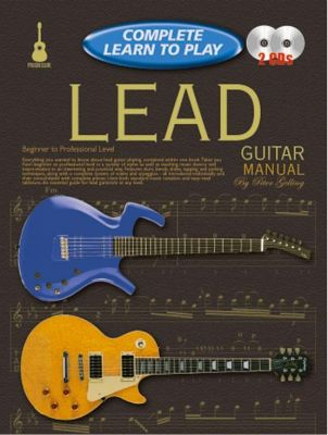 Complete Learn To Play Lead Guitar Manual + Cds