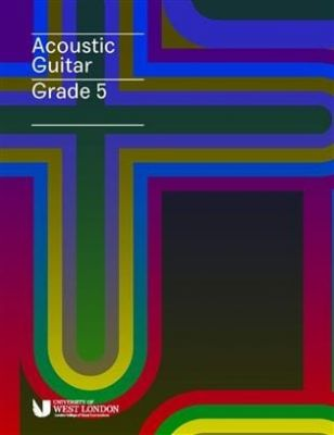 LCM Acoustic Guitar Playing Handbook from 2019 - Grade 5