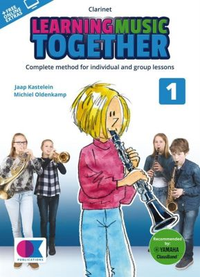 Learning Music Together Vol. 1 - Clarinet (Book + Online Audio)