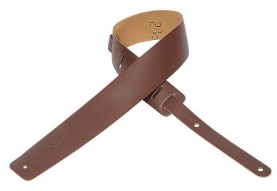 Levy's M1-BRN Leather Strap Brown Guitar Strap