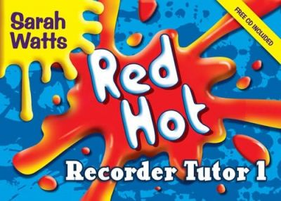 Red Hot Recorder Tutor-Student Single Book (Book + CD)