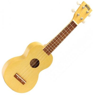 Mahalo Ukulele Kahiko MK1 Transparent Butterscotch Blonde