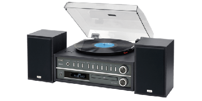 Teac MCD800 Turntable Audio System, Black - DISPLAY MODEL
