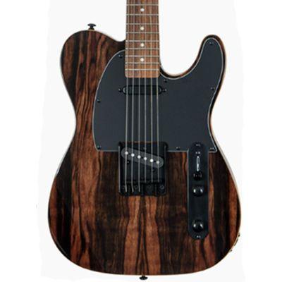 Michael Kelly MK50CSEPRT CustomCollection 1950's Electric Guitar,Striped Ebony