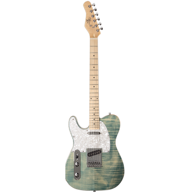 Michael Kelly 1953 Electric Guitar - Blue Jean Wash, Left Handed