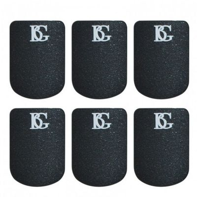BG Mouthpiece Patch, Sax and Clarinet, Black, Small, 0.8mm (Pack of 6)