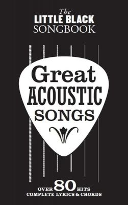 Little Black Songbooks Great Acoustic Songs