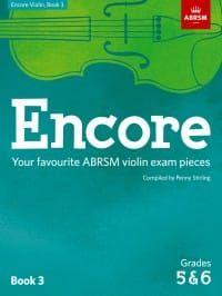 Encore Violin 3 (Grades 5 and 6)