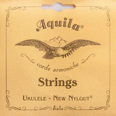 Aquila Single 4th Low G Concert Ukulele Wound String