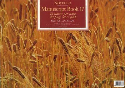 Novello Manuscript Book 17 A3 Landscape