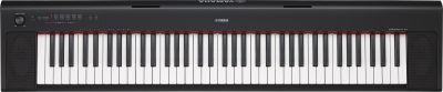 Yamaha NP32B Piaggero Portable Piano, Black