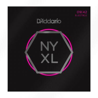 D'Addario NYXL0942 09-42 Nickel Wound Electric Guitar Strings