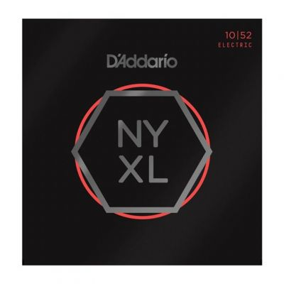 D'Addario NYXL1052 10-52 Nickel Wound Electric Guitar Strings
