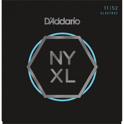 D'Addario NYXL1152 11-52 Nickel Wound Electric Guitar Strings