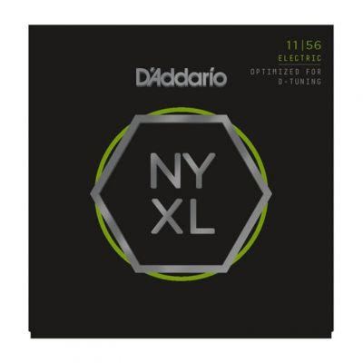 D'Addario NYXL1156 11-56 Nickel Wound Electric Guitar Strings