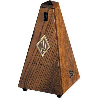 Wittner Wooden Pyramid Metronome, Matt Brown Oak Finish
