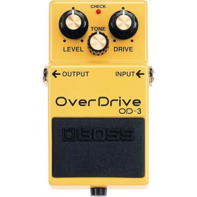 Boss OD3 Turbo Overdrive Pedal