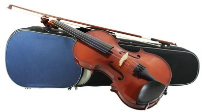 Primavera 100 Violin Outifit, 1/2 Size, with Silver Set up
