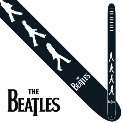 Perri 6085 The Beatles 2.5 Inch Strap B and W Abbey Road