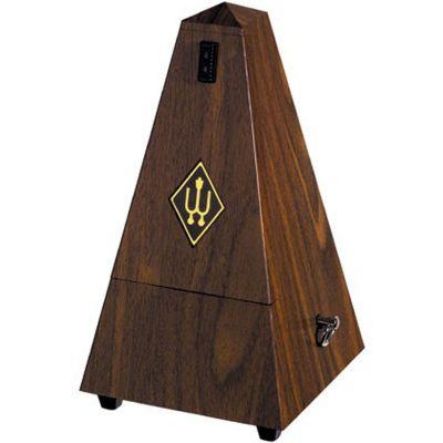 Wittner 2182 Pyramid Metronome, Plastic Casing, Walnut Finish