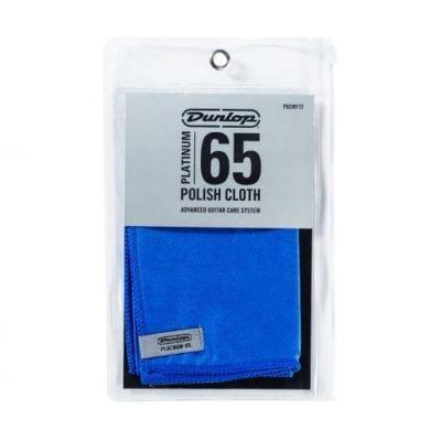 "Dunlop Platinum 65 Suede Microfibre Polish Cloth 12""x12"""