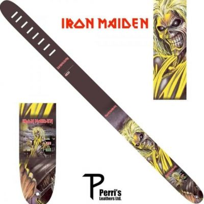 Perri 1333 Iron Maiden Leather Skull Fang