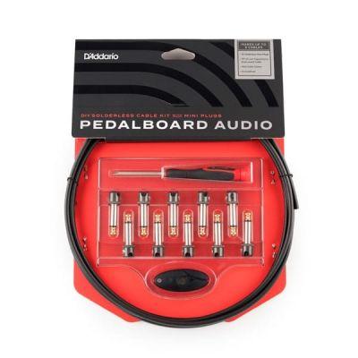 D'Addario DIY Solderless Cable Kit with Mini Plugs