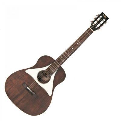 Vintage VGE800 Gemini Baritone Guitar And Carry Bag By Paul Brett