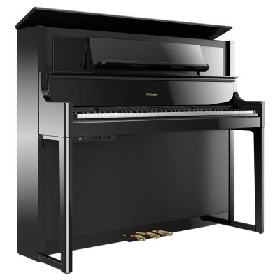 Roland LX708-PE Home Piano In Polished Ebony