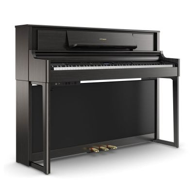 Roland LX705-CH Upright Piano In Charcoal Black