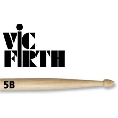Vic Firth Drum Sticks 5B Wood Tip